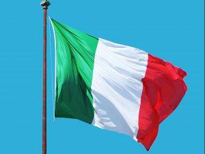 Italian Flag for Italian Dining Night