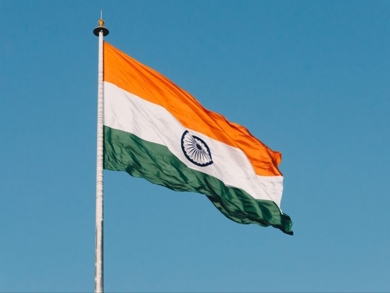 Indian Flag for Indian Dining Night