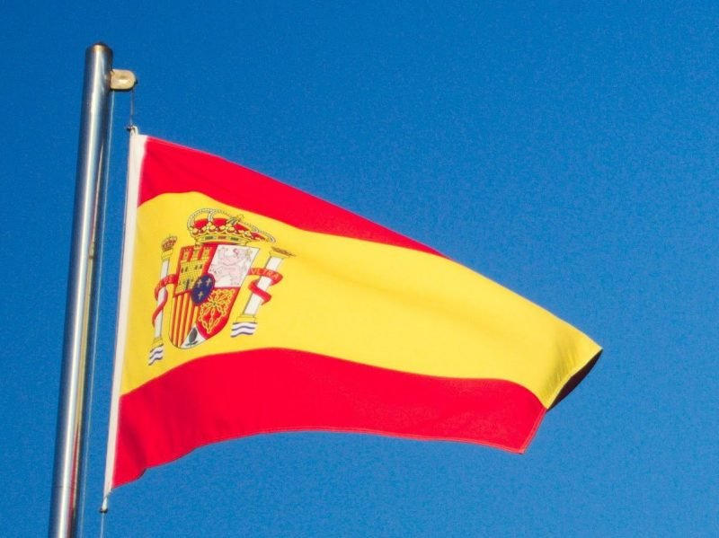 Spanish flag for Spanish Dining Night