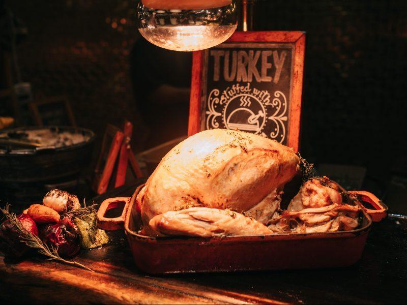 Xmas Turkey image for Xmas Dinner